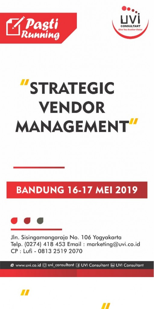 strategic vendor management
